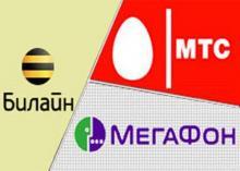 Операторы сотовой связи в России