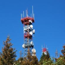 Расположение вышек сотовой связи