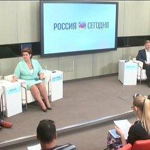 Пресс конференция об открытии ЦОД Омский
