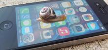 медленный iPhone